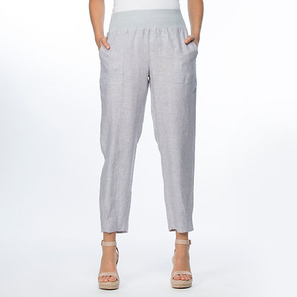 YD PULL ON LINEN PANT