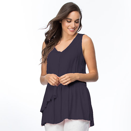 DRAPE LUXE SLEEVELESS TOP