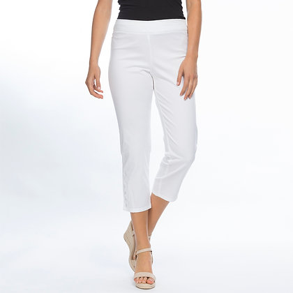 STRETCH TWILL CROPPED PANT