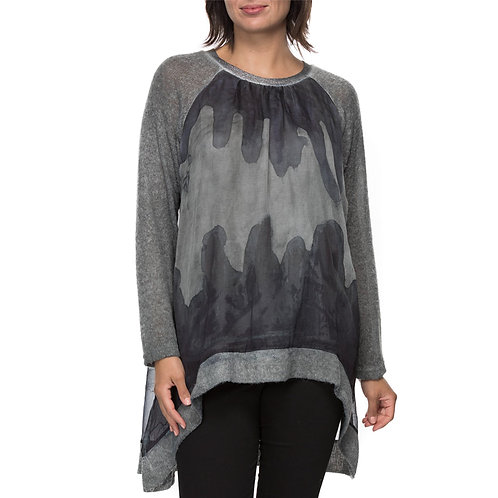 HAND DYED KNIT TOP