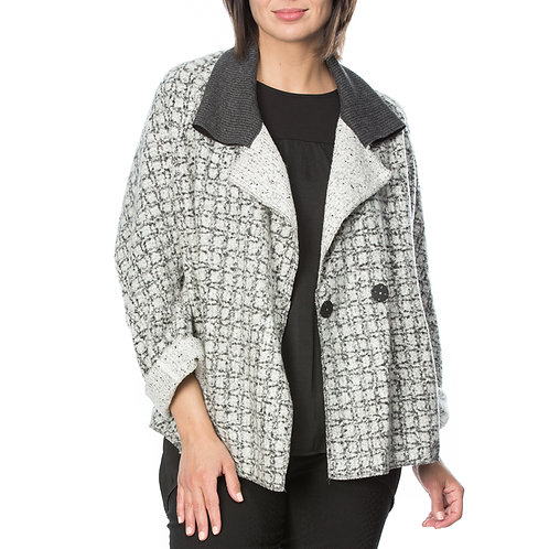TEXTURED WOOL JACKET