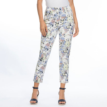 FLORAL PRINT PULL ON PANT