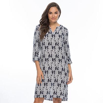 WISTERIA PRINT DRESS