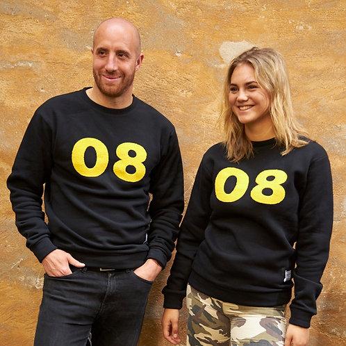 08 Sweater Black & Yellow