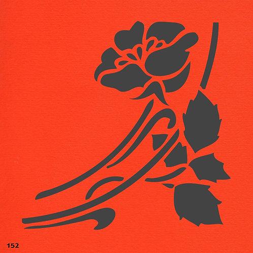 152 שבלונה פרחים
