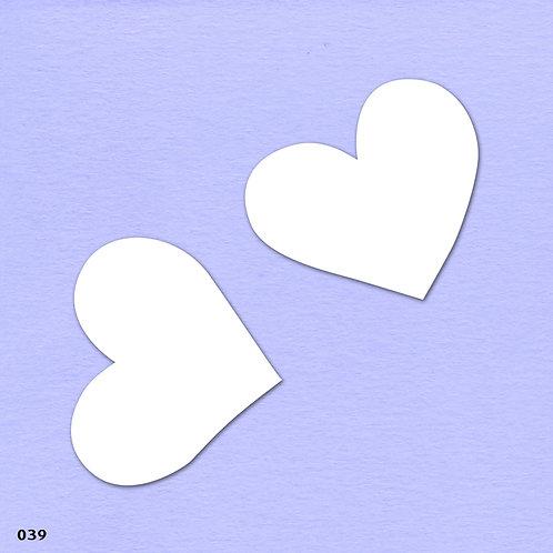 039 שבלונה לבבות