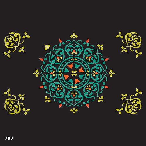 782 שבלונה מנדלה