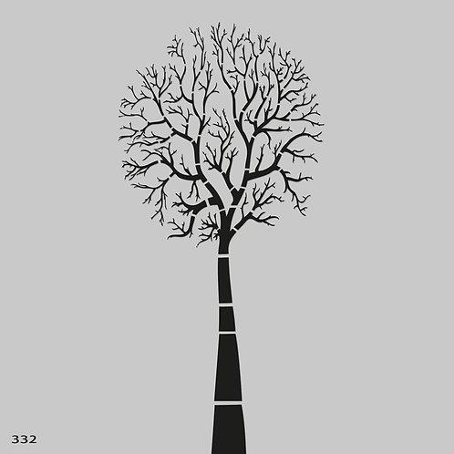 332 שבלונה עץ בשלכת