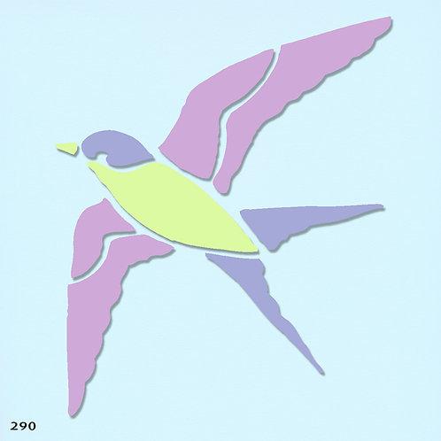 290 שבלונה ציפור