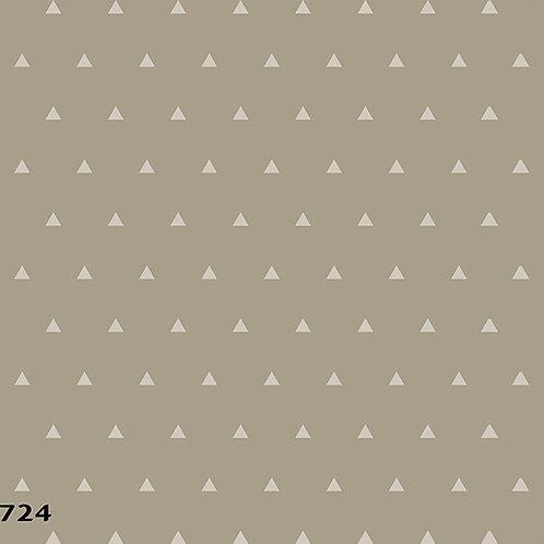 724 שבלונה טפט בדוגמת משולשים