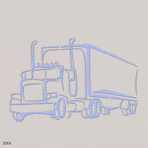 שבלונה משאית דיזל MACK 255