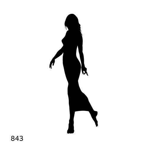 843 שבלונה אשה
