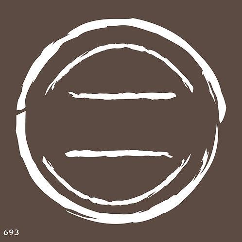 693 שבלונה חותמת בצורת עיגול