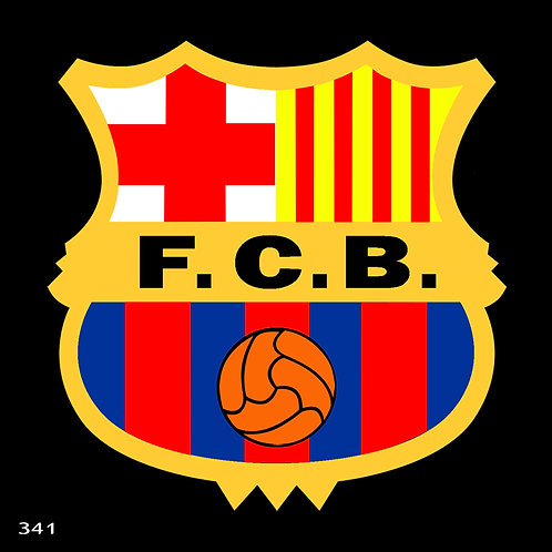 341 שבלונה קבוצת ברצלונה/בארסה בכדורגל