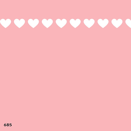 685 שבלונה בורדר לבבות