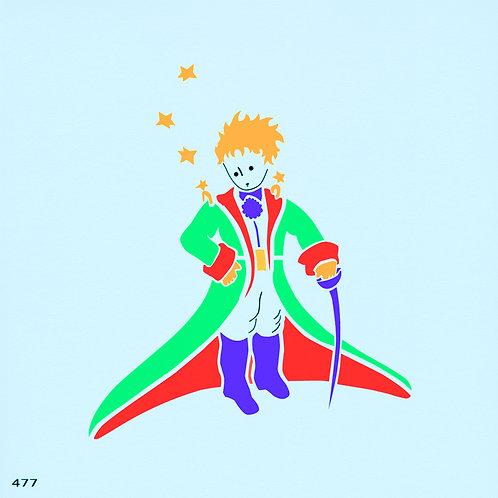 477 שבלונה הנסיך הקטן