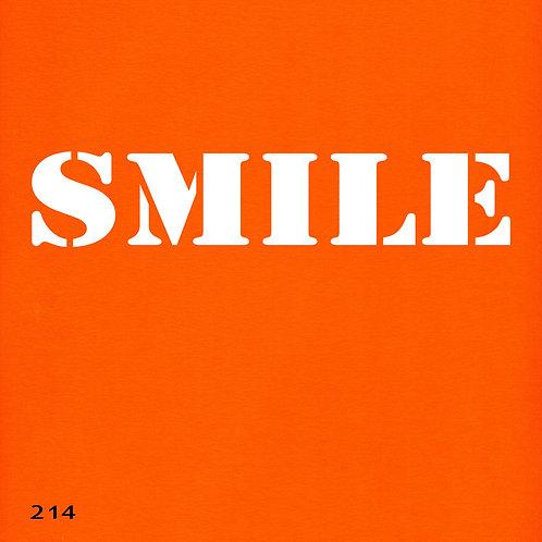 214 שבלונת SMILE