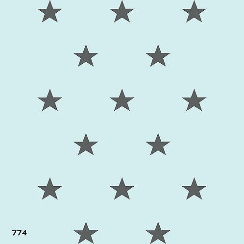 774 שבלונה טפט בדוגמת כוכבים