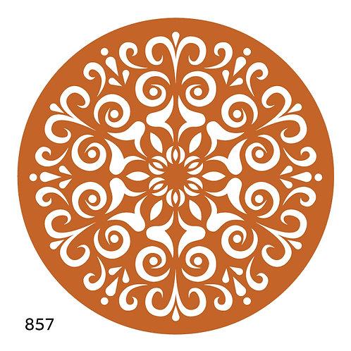 857 שבלונה מנדלה