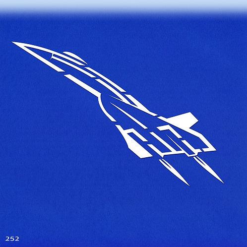 252 שבלונה מטוס קרב