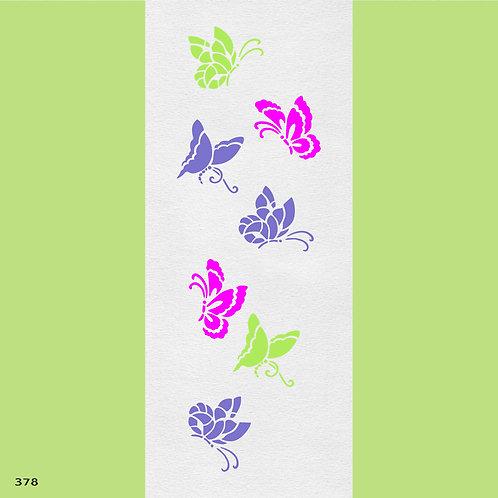 378 שבלונת פרפרים