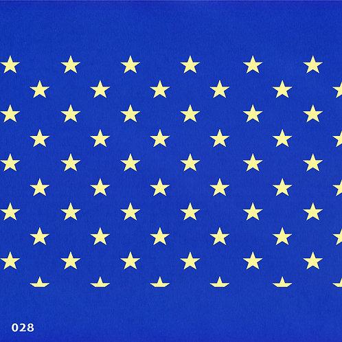 028 שבלונה טפט בדוגמת כוכבים