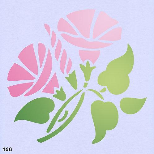 168 שבלונה פרחים -חבלבל