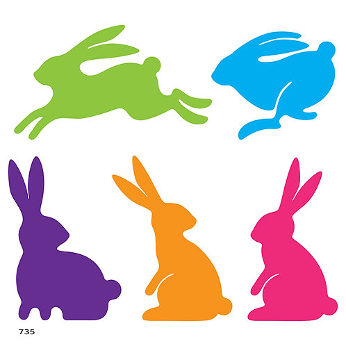 735 שבלונה ארנבים
