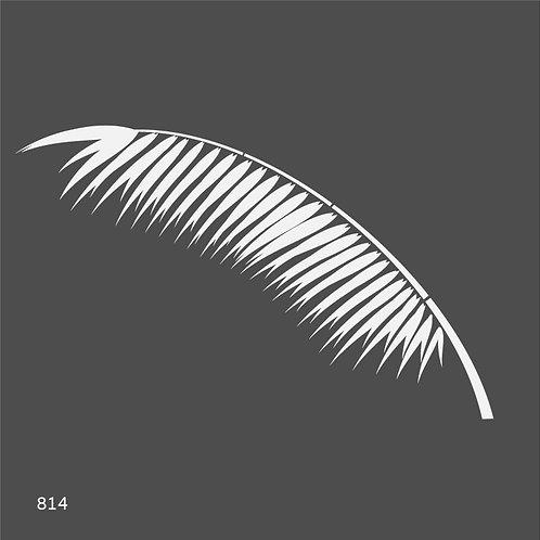 814 שבלונה ענף עץ דקל