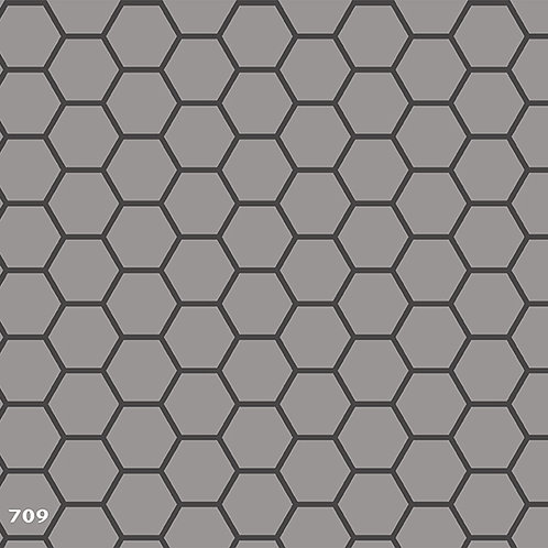 709 שבלונה טפט בדוגמת רשת משושים