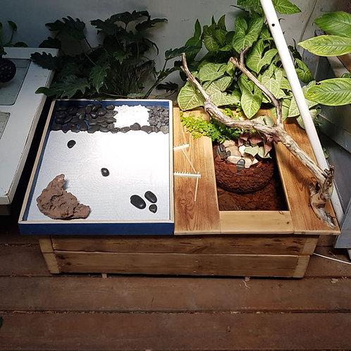 גן זן משולב עם צמחיה ומים 2601017