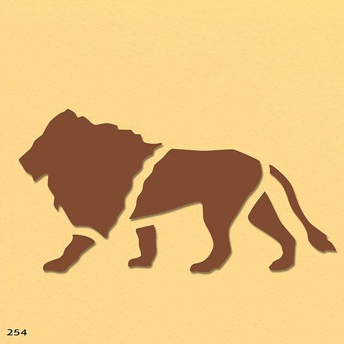 254 שבלונה אריה