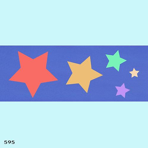 595 שבלונה כוכבים