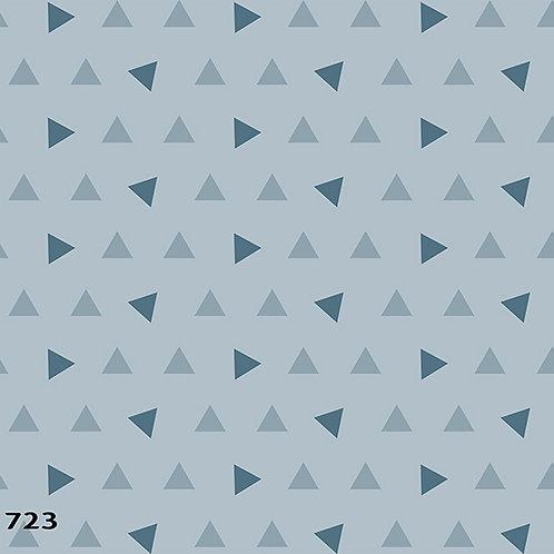 723 שבלונה טפט בדוגמת משולשים