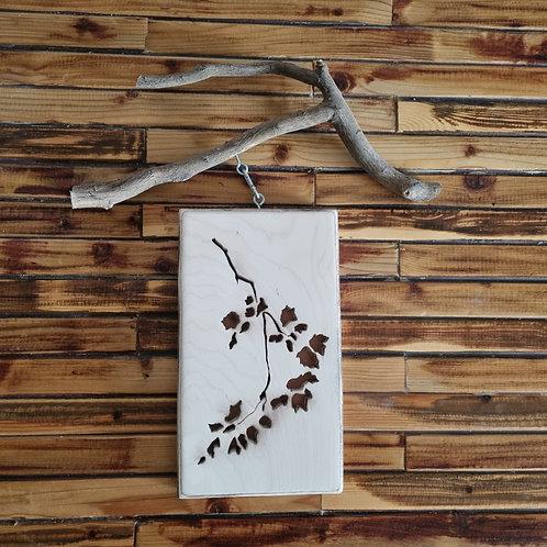2201010 שלט עץ מקושט בצורות שונות