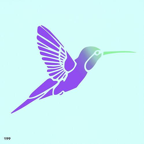 199 שבלונת ציפור יונק הדבש