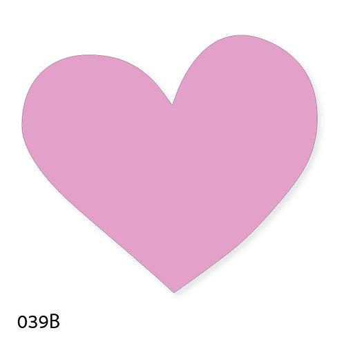 039B שבלונה לב