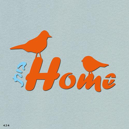 424 שבלונה HOME בית