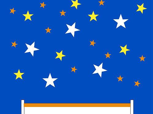 593 שבלונה כוכבים