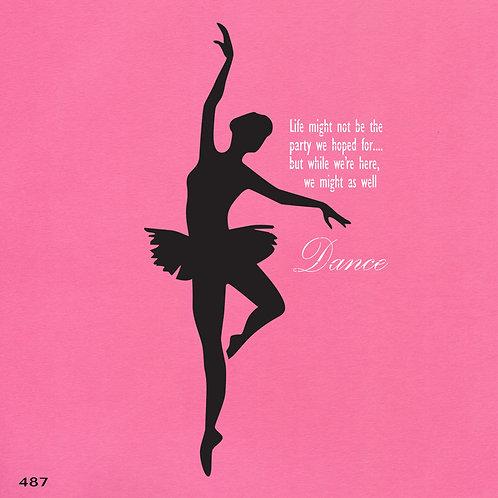 487 שבלונה רקדנית