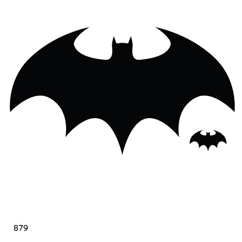 879 שבלונה עטלף כמו בט-מן