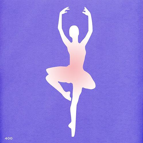400 שבלונה רקדנית בסגנון קלאסי