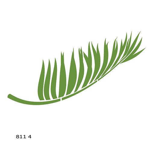 811 שבלונה ענף עץ דקל
