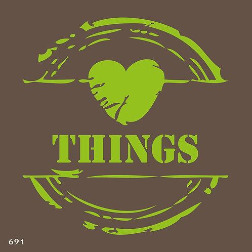 691 שבלונה THINGS
