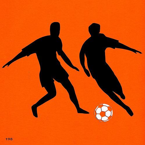 198 שבלונה שחקני כדורגל