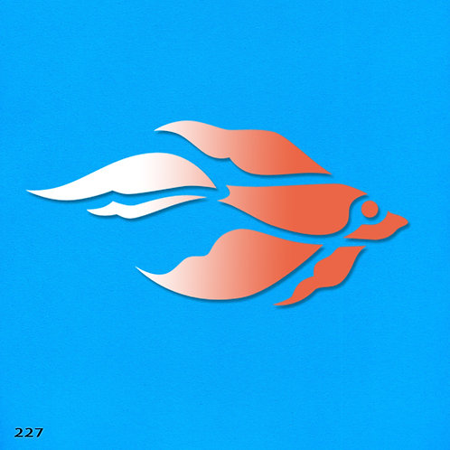 227 שבלונה דג
