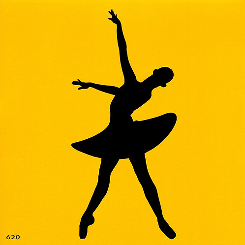 620 שבלונה רקדנית בסגנון קלאסי