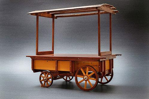 דגם עגלה בסגנון דוכן למזון 1005004