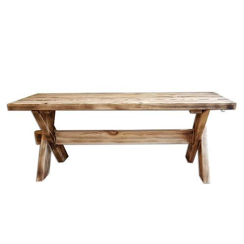 2501015 ספסל עץ מלא לבית | לחדר הילדים | לחדר האמבט | למרפסת ולגינה