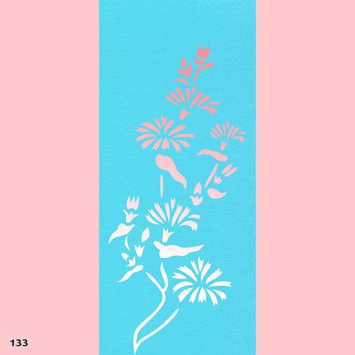 133 שבלונה פרחים - חרציות